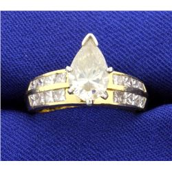 3 1/2ct TW Diamond Ring