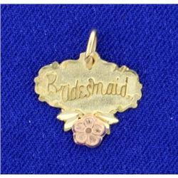 Bridesmaid Pendant