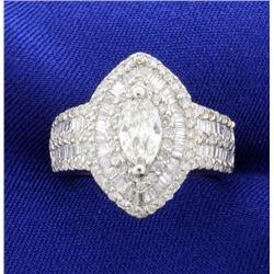 3.5ct TW Diamond Ring