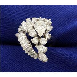 3 1/2 ct TW Diamond Ring in Platinum