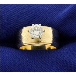 3/4 ct Diamond Solitaire Engagement Ring