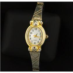 Vintage Woman's Heart Watch