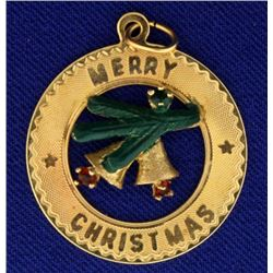 Merry Christmas Pendant