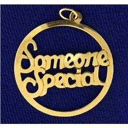 """Someone Special"" Pendant"