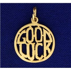 """Good Luck"" Charm/Pendant"