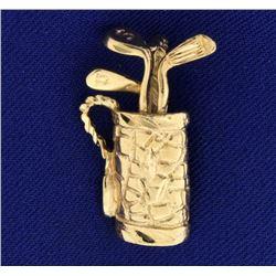 Golf Bag Pendant