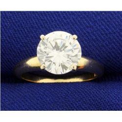 2 Carat Diamond Solitaire Engagement Ring