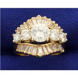 2.75 Carat TW Diamond Engagement Ring