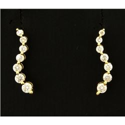 Journey Style Diamond Earrings