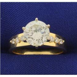 2 3/4ct TW Diamond Engagement Ring