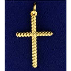 Italian Made Cross Pendant