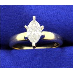 3/4 ct Diamond solitaire ring