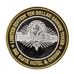 .999 Silver Rio Suite Hotel & Casino $10 Casino Limited Edition Gaming Token