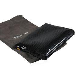 Tom Ford Black Sequin Bag/Clutch