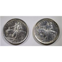 2- 1925 STONE MOUNTAIN HALF DOLLAR COMMEM BU
