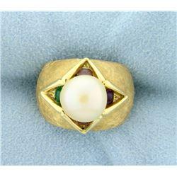 Pearl Fashion Ring
