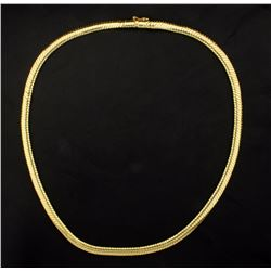 18 Inch Omega Style Necklace