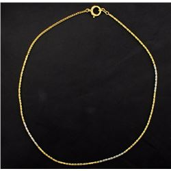 16 3/4 Inch Byzantine Chain