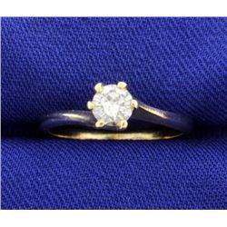 .4 ct Diamond Solitaire Ring