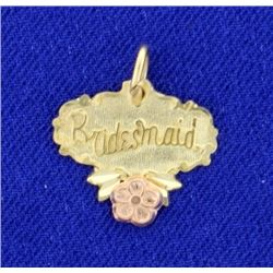Bridesmaid Pendant