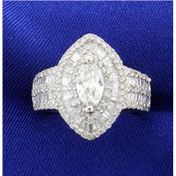 3.5ct TW Diamond Ring