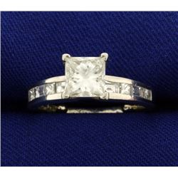 1.75ct TW Princess Diamond Ring