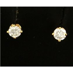 .20ct TW Diamond Stud Earrings