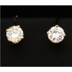 .6ct TW Diamond Stud Earrings