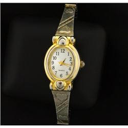 Vintage Woman's Heart Watch