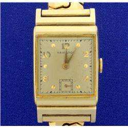 Vintage 14k 1946 Hamilton Men's Wrist Watch