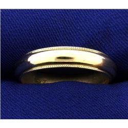 Men's 5mm Wedding Band Ring