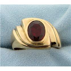 3ct Natural Ruby Ring