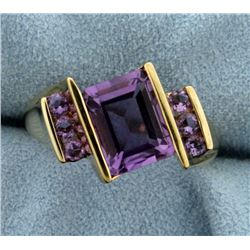 3.3ct TW Amethyst Ring