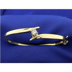 1/4 ct Diamond Bangle Bracelet
