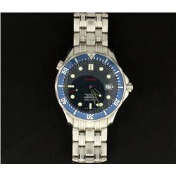 Men's Omega Seamaster Professional Diver 300m James Bond Watch