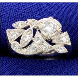 3/4ct TW Vintage Diamond Ring
