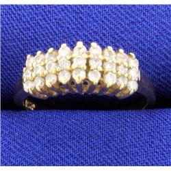 1/2ct TW Diamond Ring in 14k Yellow Gold