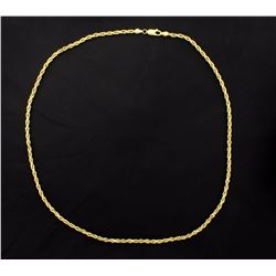 20 1/2 Inch Rope Chain