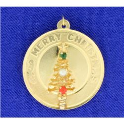 Merry Christmas/Happy New Year Charm