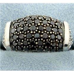 2ct TW Black and White Diamond Ring