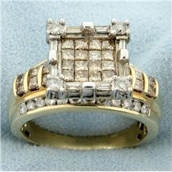 2.5ct TW Chocolate Diamond and White Diamond Ring