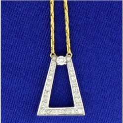 1/2 ct TW Diamond Necklace
