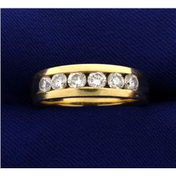 1 ct TW Men's Diamond Band Ring