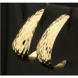 Half Hoop Fashion Earrings