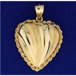 Heart Locket Pendant
