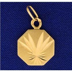 Palm Tree Frond Design Pendant