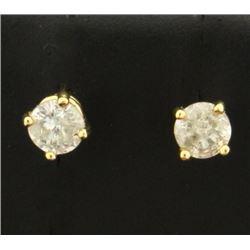 1/2 ct TW Diamond Stud Earrings