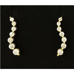 Journey Style Diamond Earrings