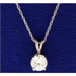 .6ct Diamond Pendant with Chain