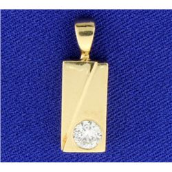 1/2ct Diamond Pendant